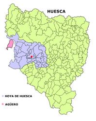 Agüero – Mappa