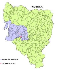Albero Alto – Mappa