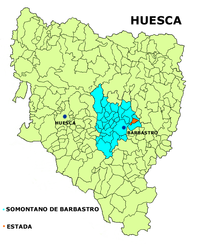 Estada – Mappa