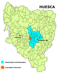 Lascellas-Ponzano – Mappa