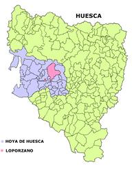 Loporzano – Mappa