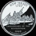 Quarter of New Jersey