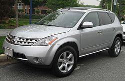 Nissan Murano SE (US)