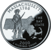 La pice du Massachusetts.