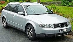 Audi A4 2.0 Avant, Australia