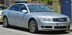 2003-2005 Audi A8 (4E) sedan (2011-01-05).jpg