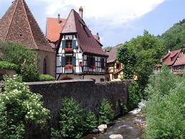 La Weiss à Kaysersberg