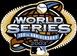 2003 World Series Logo
