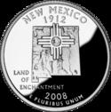 La pièce du Nouveau-Mexique.