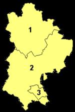Bedfordshire's unitary authorities