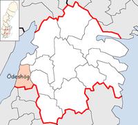 Ödeshög Municipality in Östergötland County.png