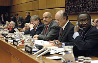 Außerordentliche Sitzung des Gouverneursrats der IAEO