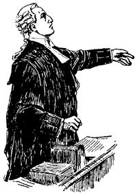 Advokat, Engelsk advokatdräkt, Nordisk familjebok.png