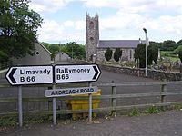 Aghadowey in 2008