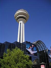 Turnul Atakule din centrul orașului