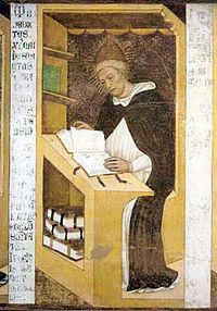 Tomasso da Modena: Benedikt XI. (freska v Trevisu)