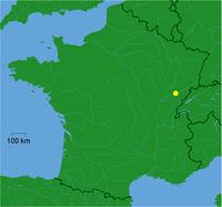 Besançon na mapě