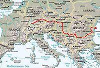 Hlavní tok Dunaje