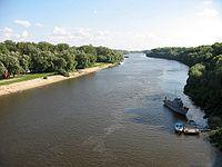 řeka v Černihově