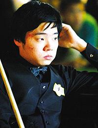 2005年丁俊晖获得英国锦标赛冠军