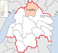 Finspang Municipality in Östergötland County.png