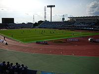 Kasamatsu Stadium. Mito vs. Sapporo, November 18, 2006.