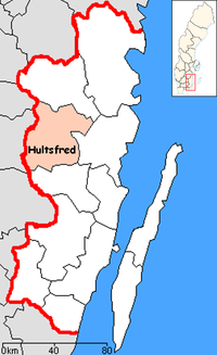 Hultsfred Municipality in Kalmar County.png