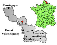 Lille na mapě