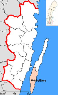 Mörbylanga Municipality in Kalmar County.png