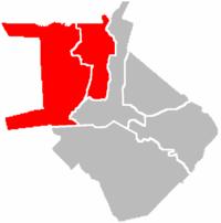 湯都區於馬尼拉市位置圖