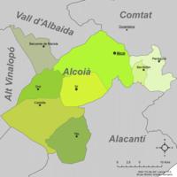 Municipalities of Alcoià