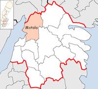 Motala Municipality in Östergötland County.png