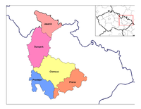 Districts of Olomouc