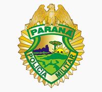 Brasão da Polícia Militar do Paraná.
