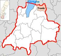 Tranas Municipality in Jönköping County.png