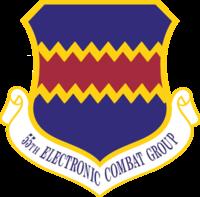 55th Electronic Combat Group emblem