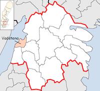 Vadstena Municipality in Östergötland County.png