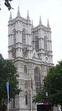 Westminsterské opatství ze západu
