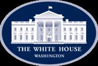 Logotipo oficial da Casa Branca.