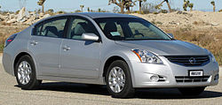 2011 Nissan Altima 2.5S sedan (US)