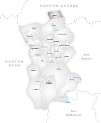 Wikon – Mappa