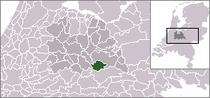 Kart over Wijk bij Duurstede