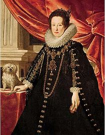 Portret al Annei de' Medici de Justus Sustermans, c. 1630.