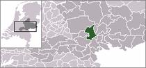 Kart over Arnhem