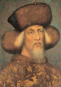 Sigismund, la aproximativ 50 de ani, portret atribuit lui Pisanello.