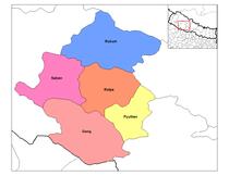 Rapti distriktene i Nepal