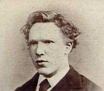 Vincent van Gogh fotografato nel 1871.