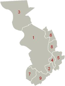 Districtele orașului Anvers