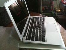 11.6 inch Macbook Air .