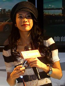2007年在台北為Canon做宣傳